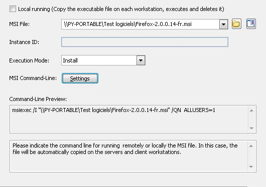 How to deploy an MSI installation file on your network? | IDEAL