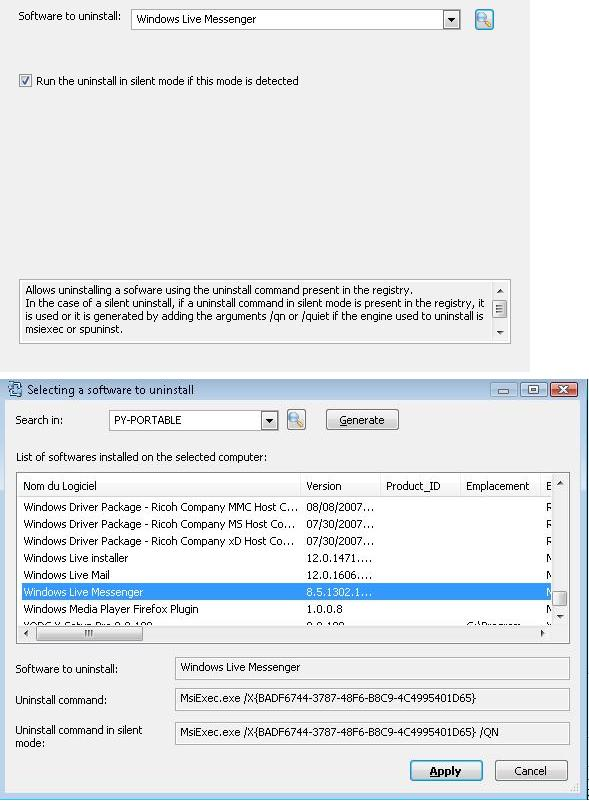 Uninstall Action: How to uninstall Windows Live Messenger in