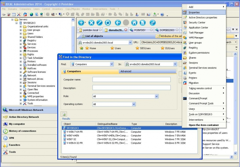 Search and Manage Active Directory Objects Easily
