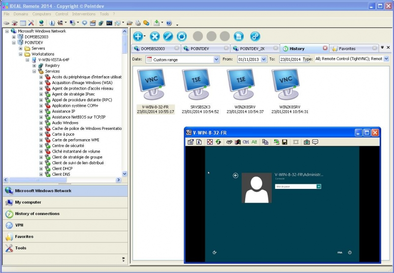 Screenshots | IDEAL Remote 14 5 | Simple, Fast and Secure Remote