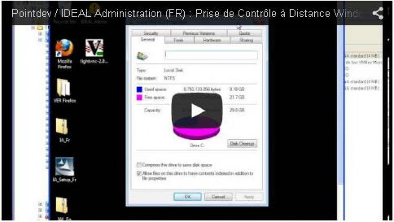 Prise de contrôle à distance Windows, Mac OS X et Linux (1:06)