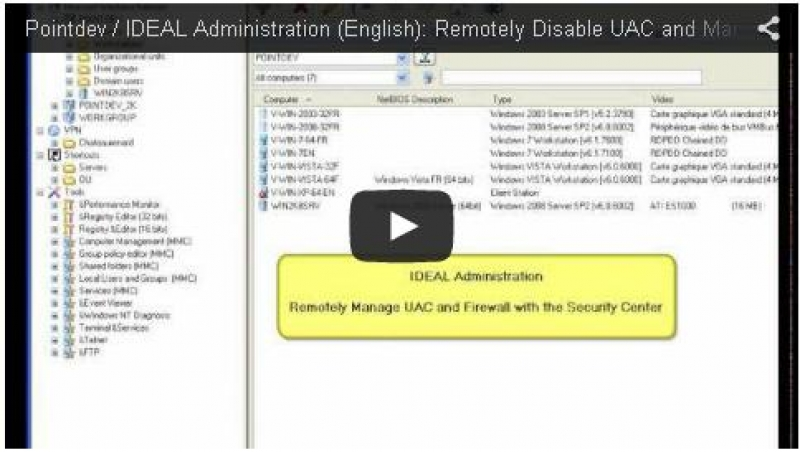 Remotely Disable UAC and Manage Firewall and Rules (0:53)