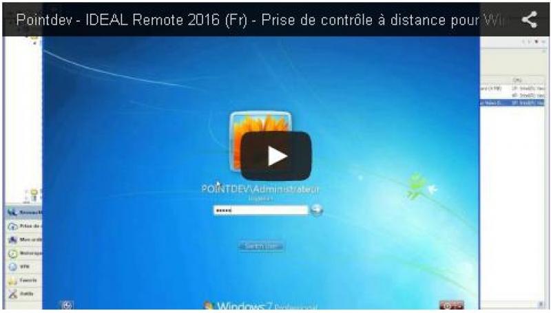 Présentation générale IDEAL Remote 2016 (7:55)